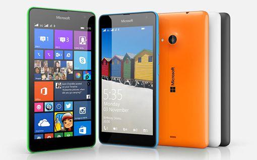 Microsoft Rilis Smartphone Lumia 535