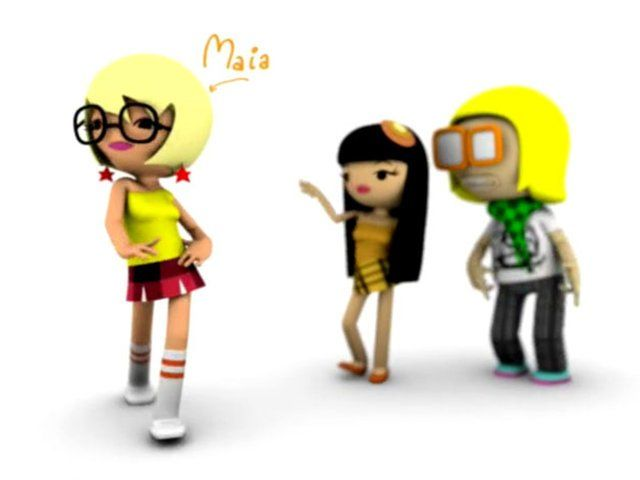 Animation - Golem Studio  Agency - Mccann Erikson  Client - Coca Cola Romania  Character design - PSYOP
