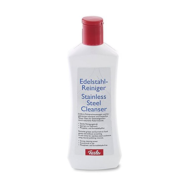 Fissler Cleaning and Care Product for Gentle Stainless Steel, Kitchen Spray, 250 ml