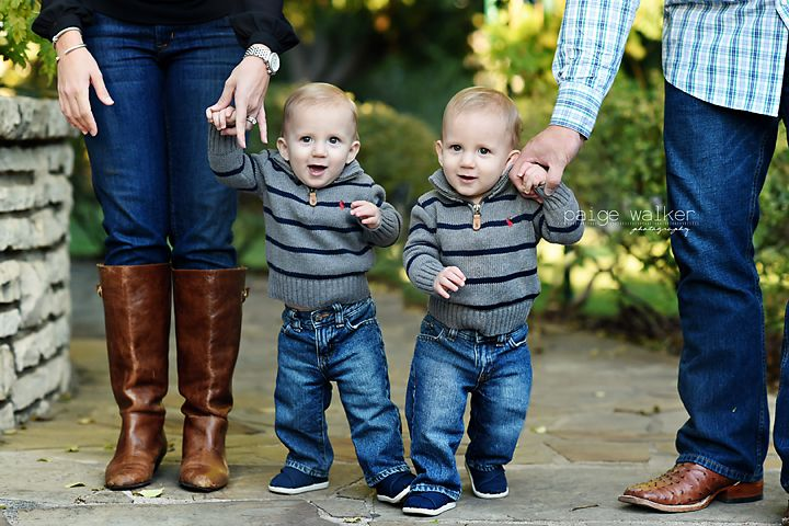 One Year Old Twin Photos Twin Boy Photo Ideas Family