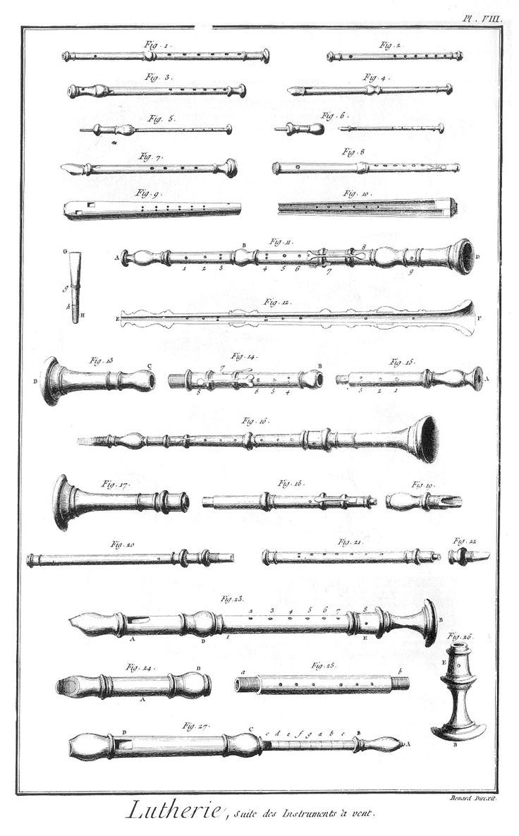 Suite des instruments à vent