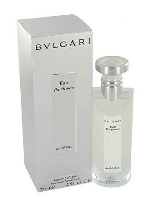 Eau Parfumee au The Blanc Bvlgari for women and men---Eau Parfumee au The Blanc by Bvlgari is a Floral Woody Musk fragrance for women and men. Eau Parfumee au The Blanc was launched in 2003. The nose behind this fragrance is Jacques Cavallier. Top notes are tea, artemisia, bergamot, bitter orange and orange blossom; middle notes are pepper, cardamom and coriander; base notes are amber, musk, rose, jasmine and woody notes.