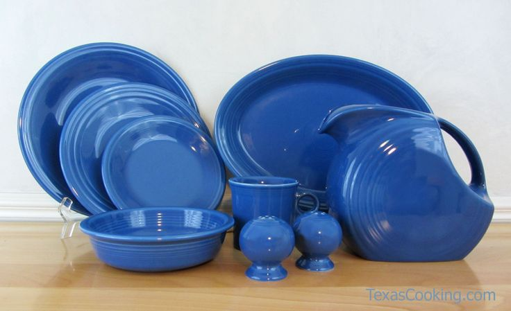 Our first Lapis Fiesta dishes #Fiestaware