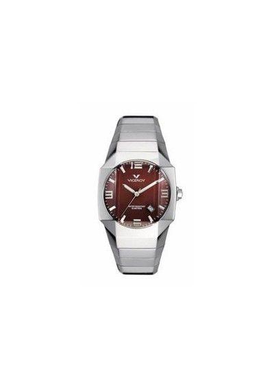 dea486543e62 Reloj Viceroy género caballero con movimiento cuarzo analógico. Caja  octogonal en acero con cierre de
