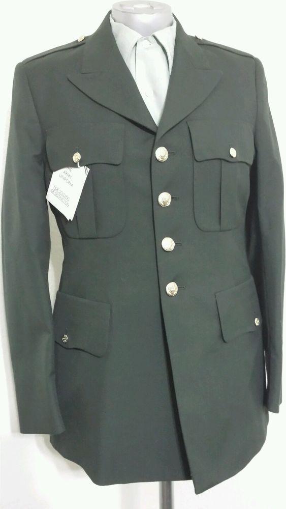 DeRossi & Son Army Service Uniform Dress Green Jacket 40R #DeRossiSon