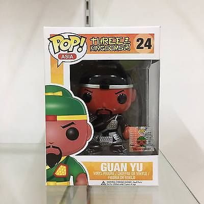 Funko Pop Asia Guan Yu (Black Silver) #24  Rare, Hard to find & Limited MINT | eBay