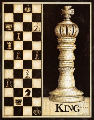 Classic King Art Print by Andrea Laliberte at Art.com