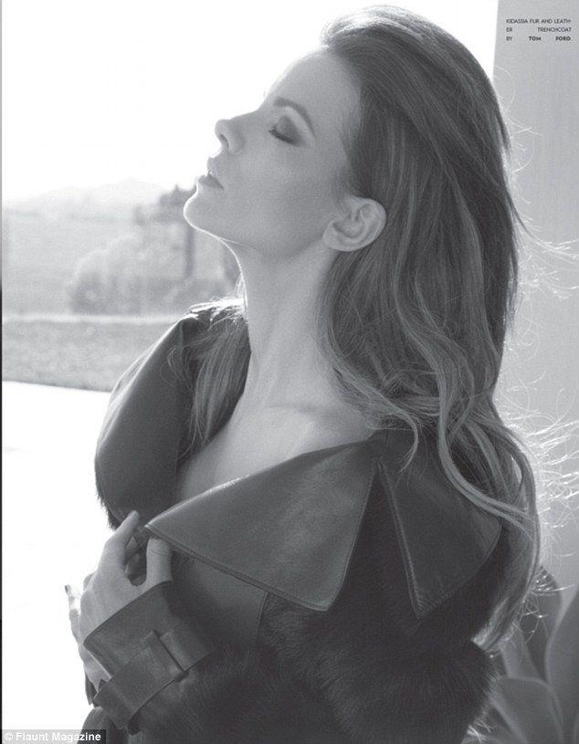 Kate Beckinsale Flaunt magazine