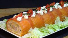 Tronco salado especial para Navidad #Recetas #cocina #comidas #tutorial #entrantes #aperitivos #Marisco #Navidad aunque lo podemos preparar en cualquier époc...