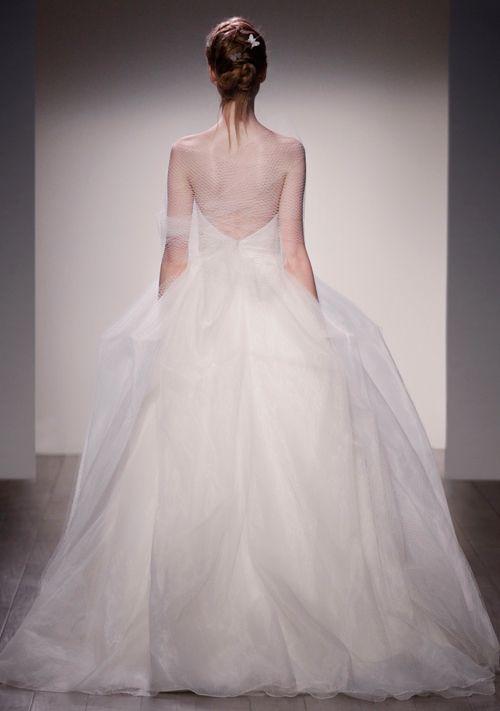 glamorous ballgown Jim Hjelm wedding dresses