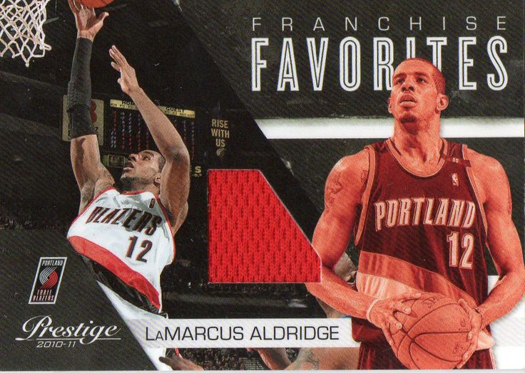 2010-11 Prestige LaMarcus Aldridge Franchise Favorites Game Worn Jersey /249