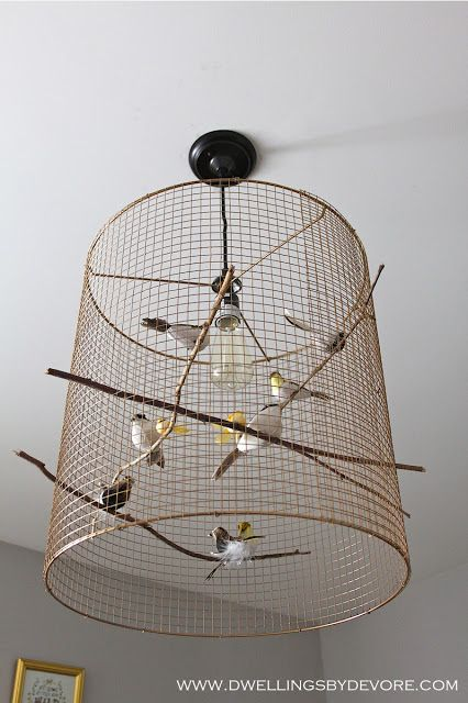 17 Best Ideas About Birdcage Light On Pinterest