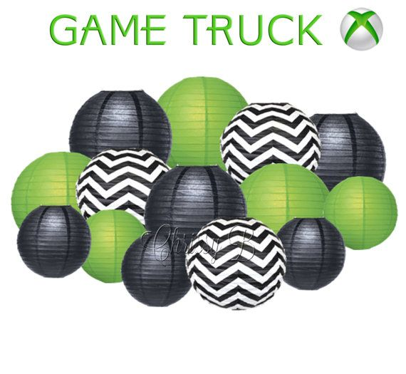 GAME TRUCK Deluxe Party Decorations  Paper by ChrissyBPartyShop