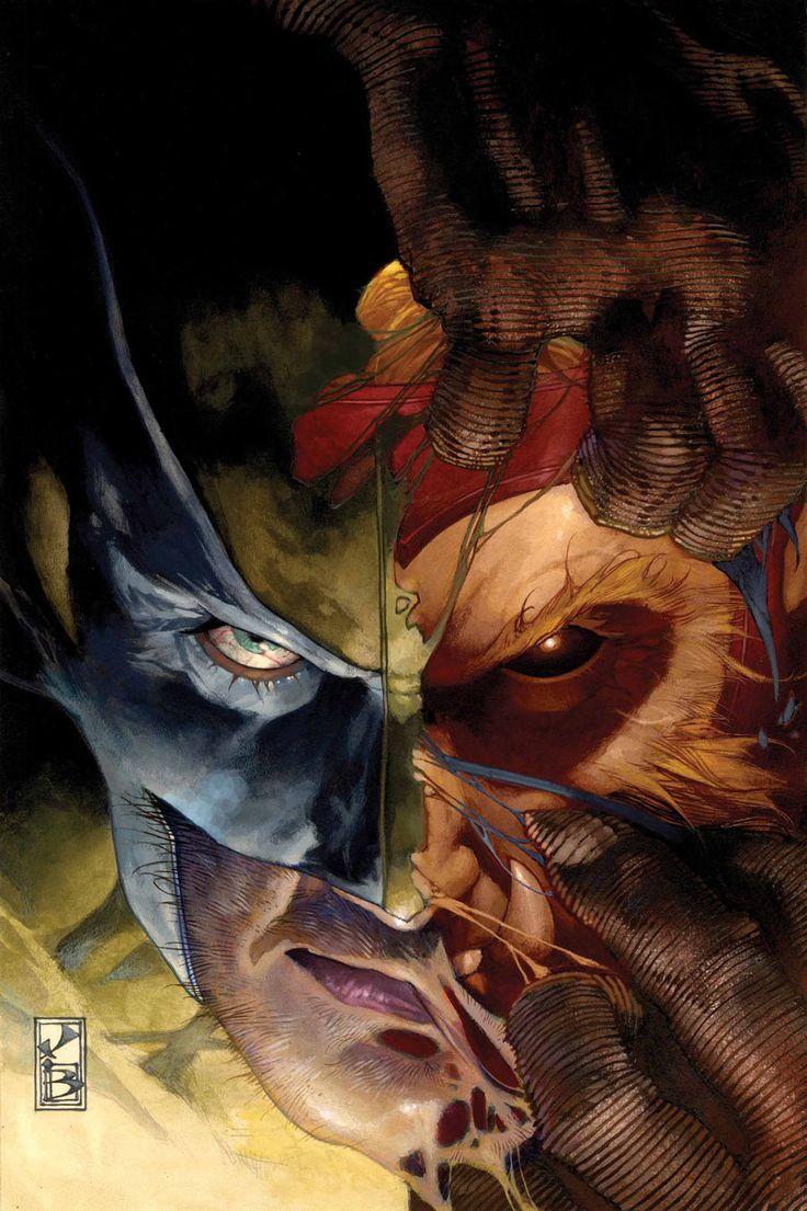 Wolverine/Sabertooth by Simone Bianchi