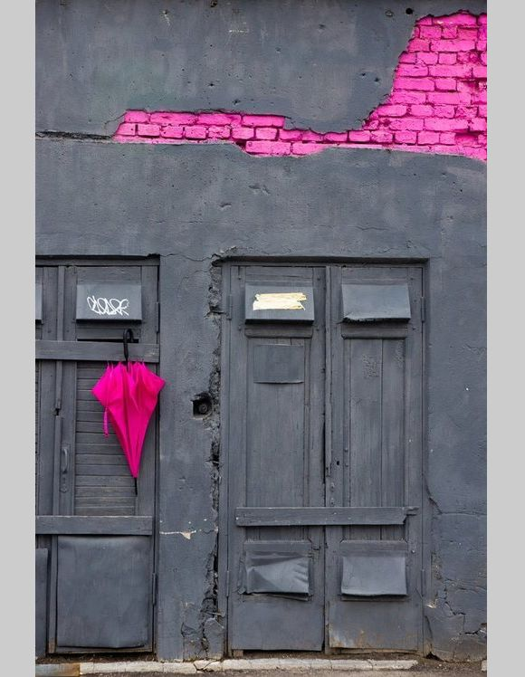 Un pò di mattoni rosa fuxia!!