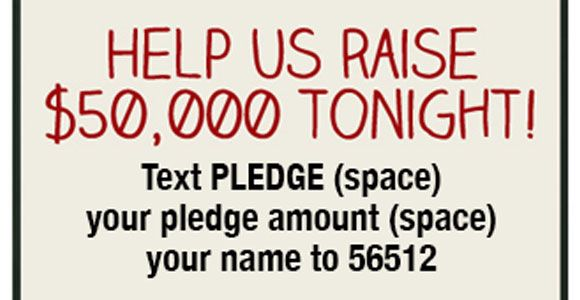 With Mobile Pledge, donors text in the amount they are pledging to donate. The Give by Cell text message system captures the amount pledged and the donor's cell phone number.