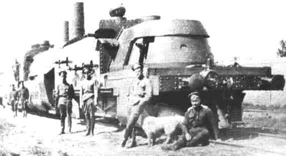 Russian Civil War armoured train