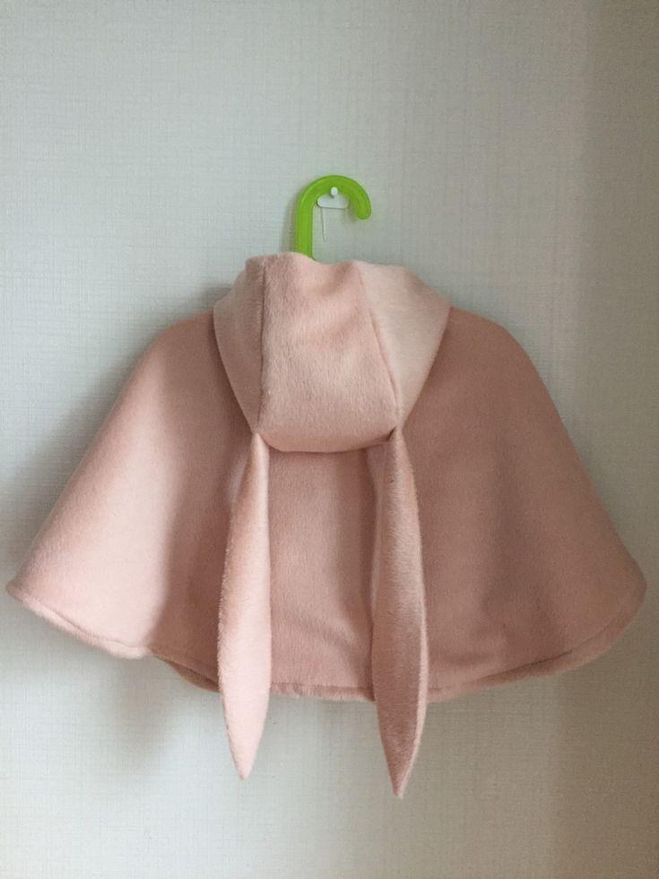 rabbit cape coat