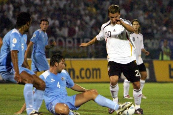 On 6 September 2006, Germany handed a record loss to a team used to losing, beating San Marino 0-13 in a European Championship qualification match.