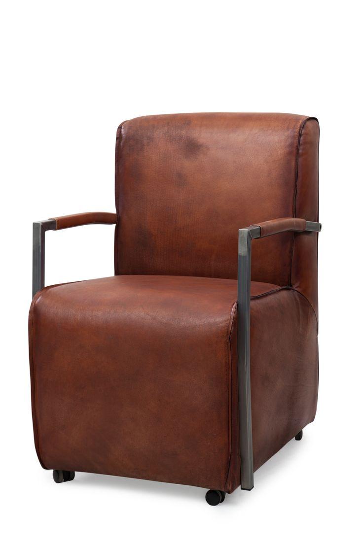 De 10 beste afbeeldingen over zitze vintage stoelen for Bruine eetkamerstoelen