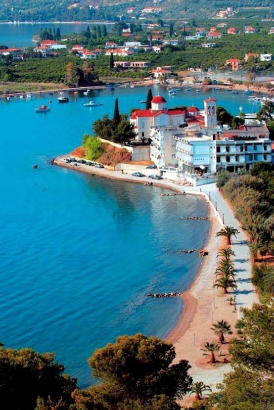 #epidavros, #greece, great lanscape and beach