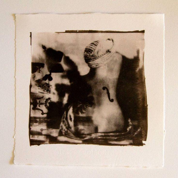 Forgotten Beauties 05 - 20x20 cm Van Dyke Brown print
