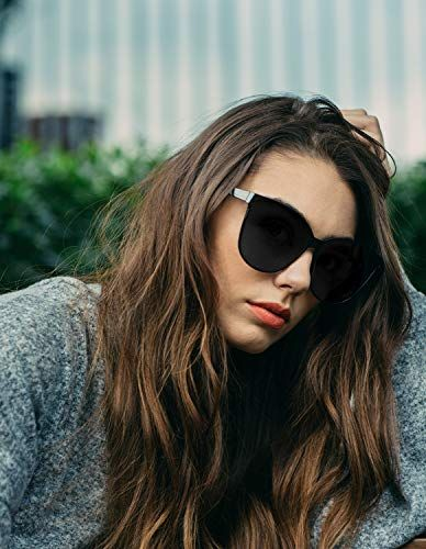 81127935d9 LVIOE-Cat-Eyes-Sunglasses-for-Women-Polarized-Oversized-Fashion-Vintage- Eyewear-for-Driving-Fishing-100-UV-Protection