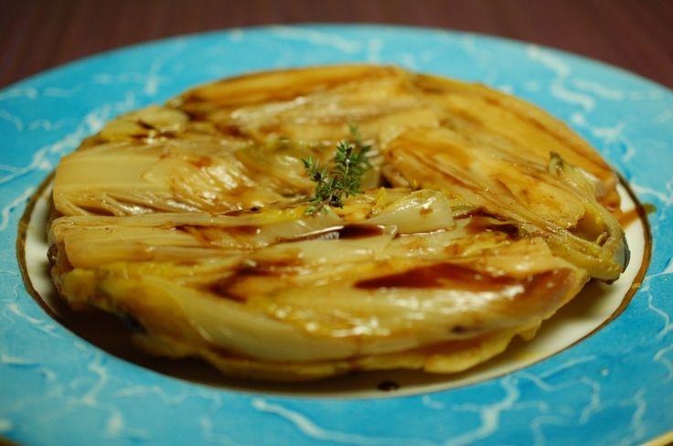Witlof tarte tatin - Witlof is trendy De nieuwe smaaktrend is ....... bitter. Ja, went u er maar alvast wat aan. Dat weet men in Frankrijk overigens al een ...