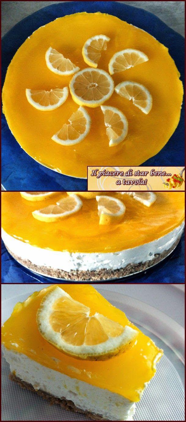 Il piacere di star bene... a tavola!: Cheesecake al limone con Mc Vities's Digestive