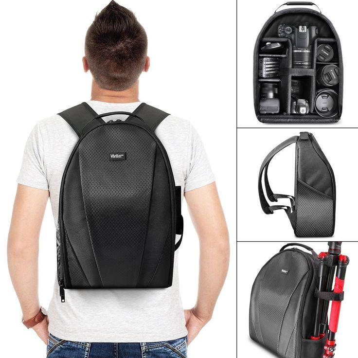 Amazon.com: Vivitar Camera Backpack Bag for DSLR Camera, Lens and Accessories: Electronics