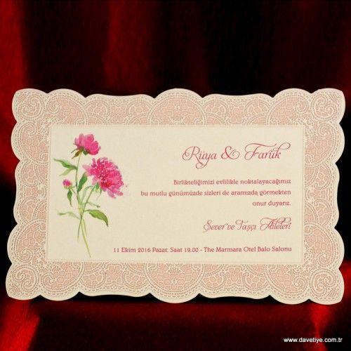 Ezgi Davetiye 611 #davetiye #düğündavetiyeleri