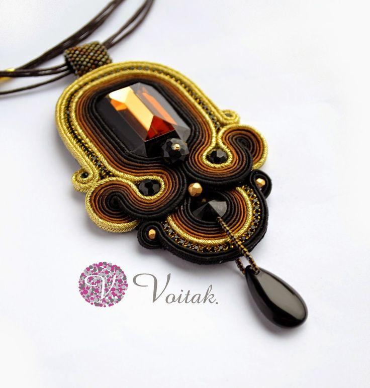 Soutache Jewelry. Artystyczna Biżuteria Autorska Katarzyna Wojtak