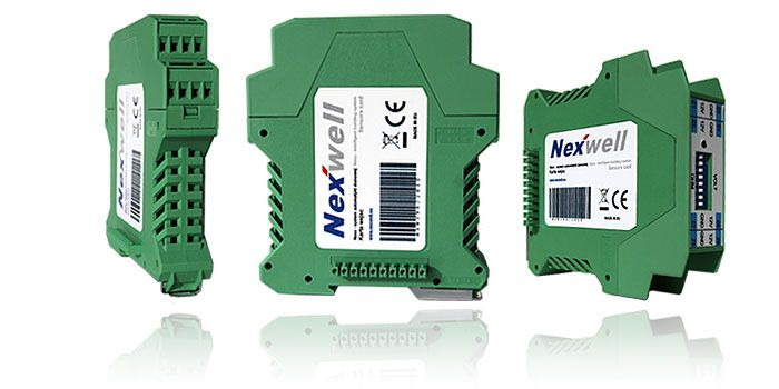 NXW398 - SENSORS CARD - It broadens the system with 8 additional signals like: