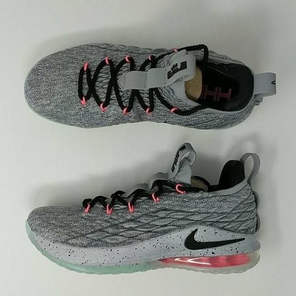 05b392d91be8 Nike Lebron 15 XV Low Melon Basketball Shoes Sz 8.5 New AO1755-005 in 2019