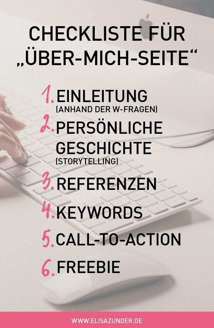 Über mich Seite schreiben: 6 Tipps wie Du mit der »Über Uns/Mich Seite« zum Kunden-Magnet wirst