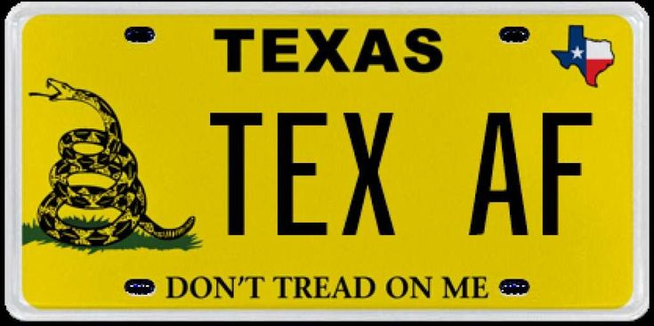 15 Outrageous License Plates Rejected By The Texas DMV