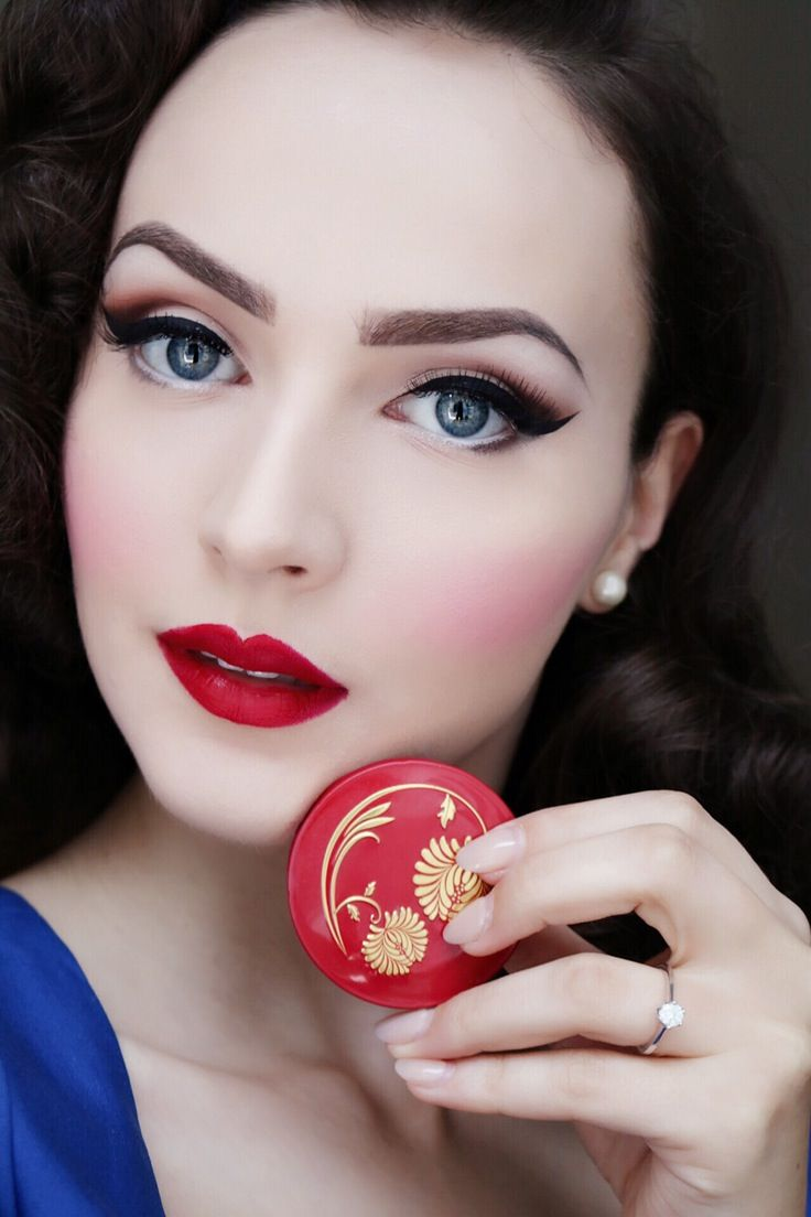 Besame cosmetics | Hair and makeup | Pinterest