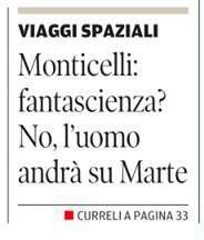 La Nuova Sardegna, 19 ottobre 2016, prima pagina.