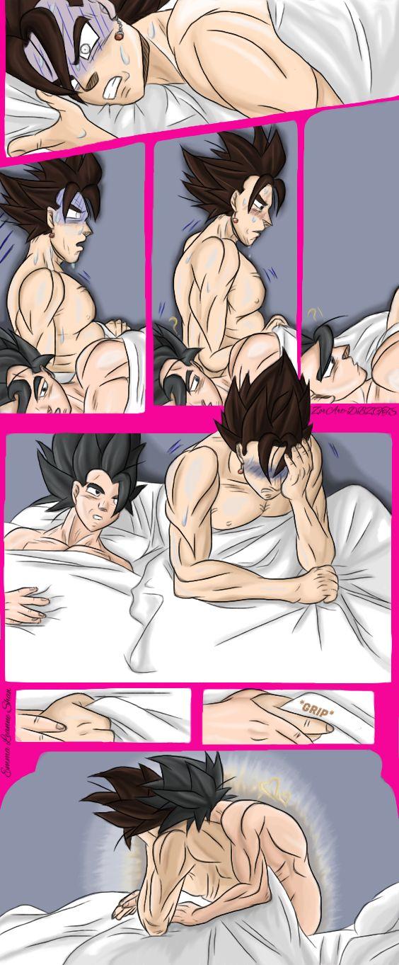 Gogeta x Vegito YAOI Nightmare Comic Strip by ZorArt-DBZGTS