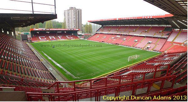 The Valley, Charlton Athletic.