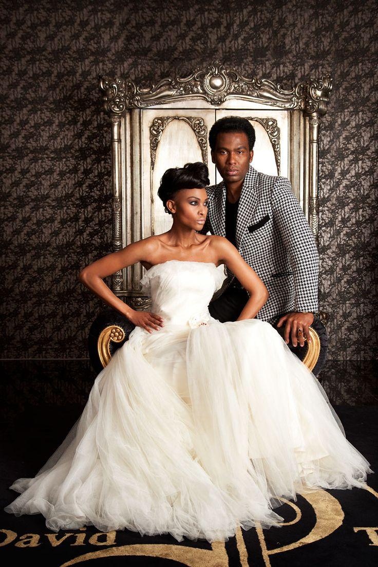 Fashion designer studio david tlale gowns something for Designer david