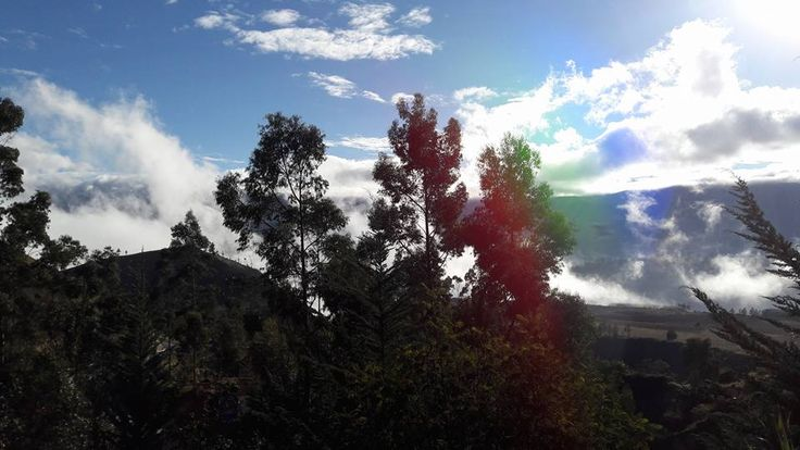 #ECOHOTELS #SWD #GREEN2STAY Black Sheep Inn, Ecolodge, Ecuador  Sunrise in the black sheep Monday 05 Dec. 2016. Wonderful - http://green2stayecotourism.webs.com/mex-sth-america-eco-hotels