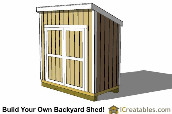 Best 25 Lean To Shed Plans Ideas On Pinterest