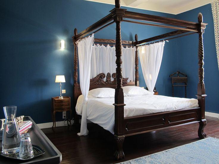 la chambre bleue - Chambre Bleu Nuit