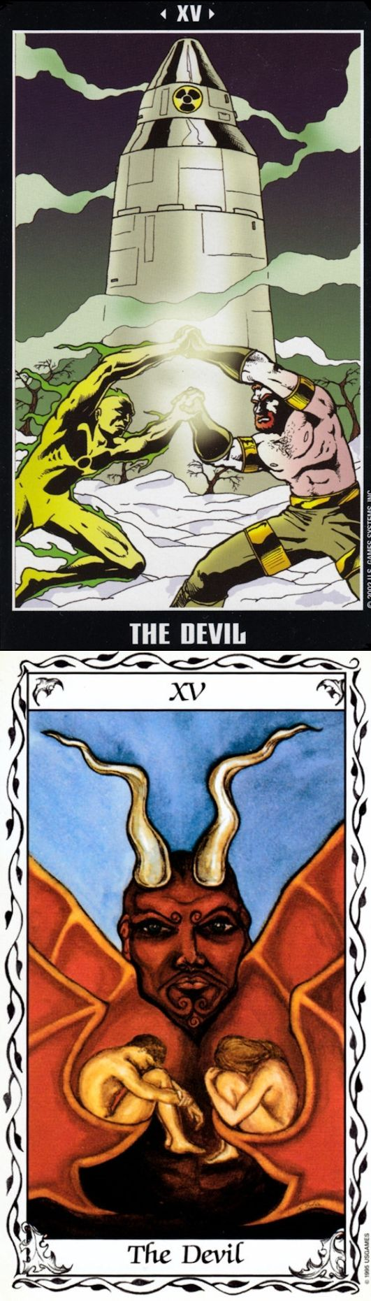 THE DEVIL: materialism and freedom (reverse). Adventure Tarot deck and Hudes Tarot deck: tarw dwrean, are tarot cards real vs best tarot card reading free online. Best 2017 tarot reading and tarot art vintage. #androidgame #tarotmeanings #goth