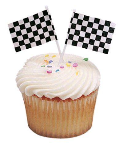 Black And White Checkered Cake