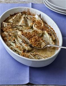 Barefoot Contessa - Recipes - Parmesan Fennel Gratin