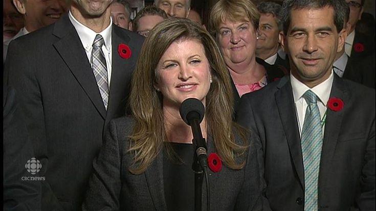 Edmonton MP Rona Ambrose says former leader Stephen Harper spoke to the Conservative caucus