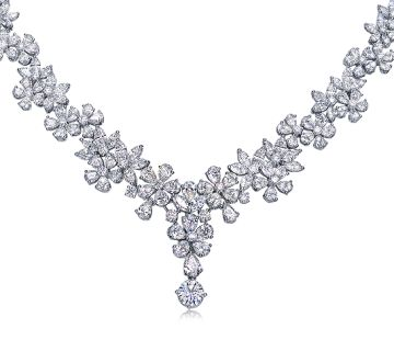 Infini Love Antwerp Diamond Heritage Necklace - Antwerp Diamond Heritage - Infini Love - Collections & Brands - Chow Sang Sang Jewellery