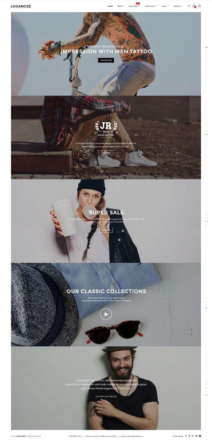 Logancee Web Design Inspiration